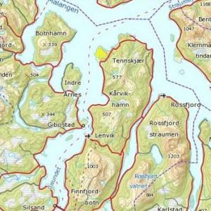 Utsnitt Midt-Troms
